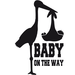 Stork Baby On The Way