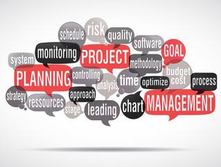 word cloud : project management