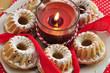 Weihnachtlicher Mini Gugelhupf