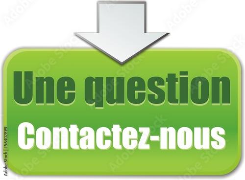 bouton une question contactez-nous