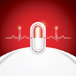 Anti drug medical background