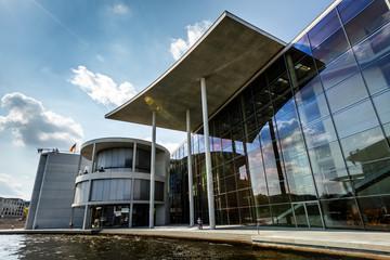 German Chancellery (Bundeskanzleramt) Building near Reichstag in