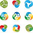 Logo, Tropfen, 3D, Bewegung