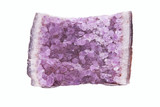 amethyst a violet gem stone poster