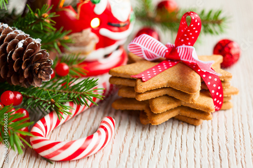 Poster Dessert Christmas cookies