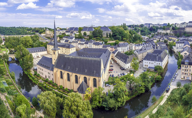 Abbey de Neumunster in Luxembourg City