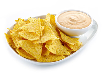 Nachos and dip