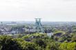 Leinwandbild Motiv Blick auf Bochum - DBM mit dem Förderturm