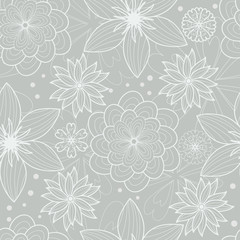 vector seamless flower pattern for wallpaper,origami paper