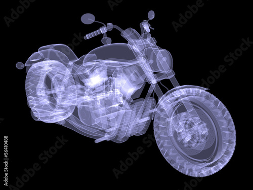 Chopper. The X-ray render
