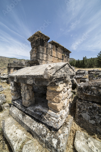 Tomb in Northern Necropolis of Hierapoli, Denizli, Turkey