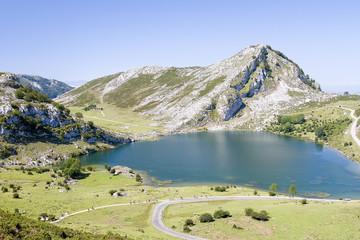 Enol Lake, Picos de Europa, Spain