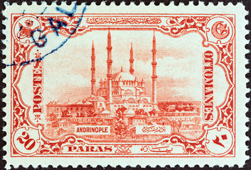 Selimiye Mosque, Edirne (Turkey 1913)