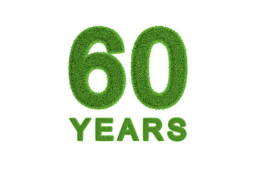 60 Years Eco-friendly anniversary celebration
