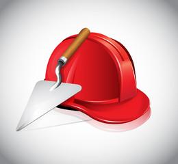 Helmet Trowel Icon