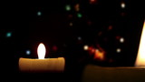 Candle, christmass (copy space)