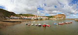 seaside village staithes, north yorkshire, england