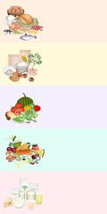 Health and Nutrition Benefits of Food Groups
