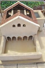 Model of the Beth Alpha Synagogue, Israel