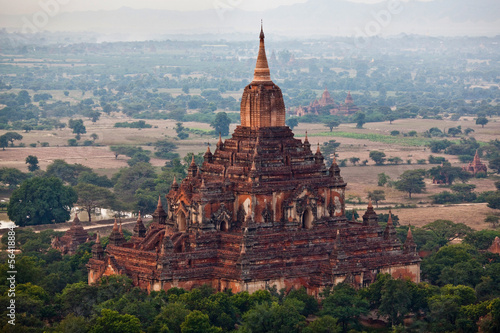 Htilominlo pagoda in Pagan archaeological zone, Burma