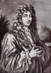 Christiaan Huygens (painting of Caspar Netscher)