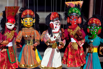 Nepalese Puppet Show