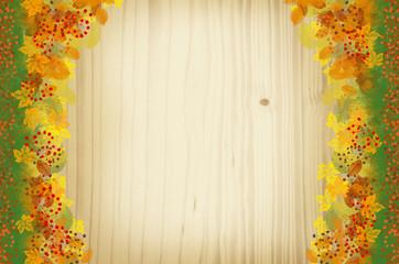 Hintergrund Serie - Herbst gelbe Blätter