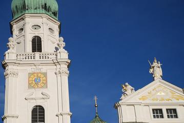 Dom zu Passau Sankt Stephan St. Stephanus Märtyrer Bayern