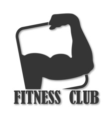 emblem design for fitness club