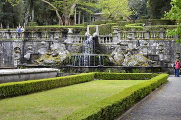 Fontana dei giganti, Villa Lante