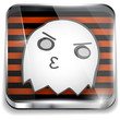 Halloween Ghost Icon Button Application