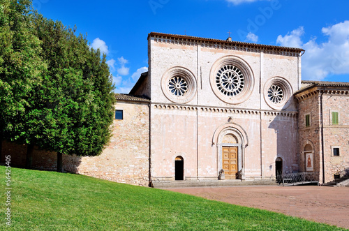 St. Peter Church, Assisi, Umbria, Italy