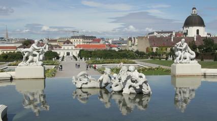 Garden of Belvedere, Vienna