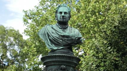 Andreas Zelinka statue, Vienna