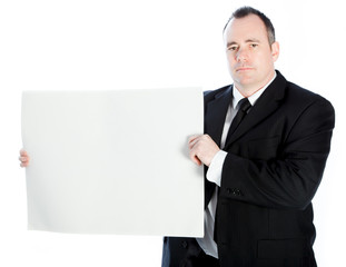 Caucasian businessman 40 years old