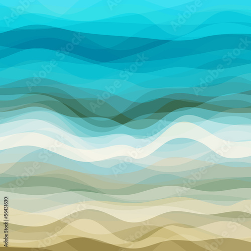 Abstract Wavy Background - 56431630