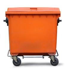 Blank refuse bin
