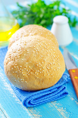 rolls for burgers