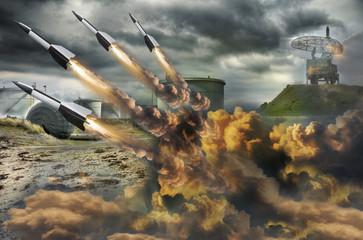 Rocket attack