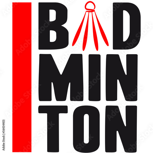 Bad Min Ton Logo