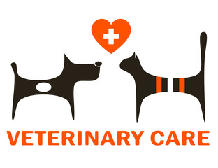 symbol of veterinary care