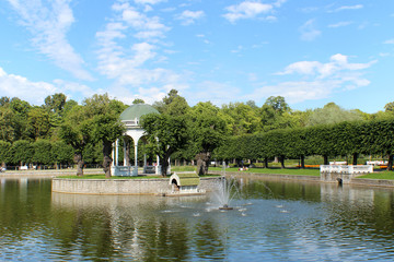 Kadriorg Park in Tallinn, Estonia