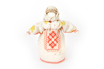 Russian traditional rag doll