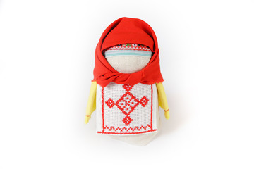 Russian traditional doll Krupenichka