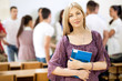 Portrait of university student