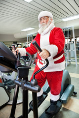 Santa Claus  training