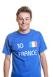 French soccer fan is ready for the world cup