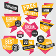 Premium Vector Sale Badges and Labels