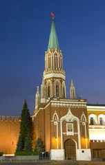 Kremlin tower, Moscow