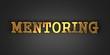 Mentoring. Business Concept.